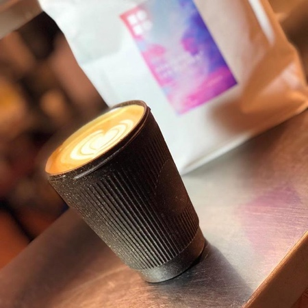 Cups Made of Coffee Beans