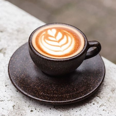 Cup Made of Coffee