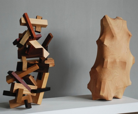 Tung Ming-Chin Wooden Sculptures