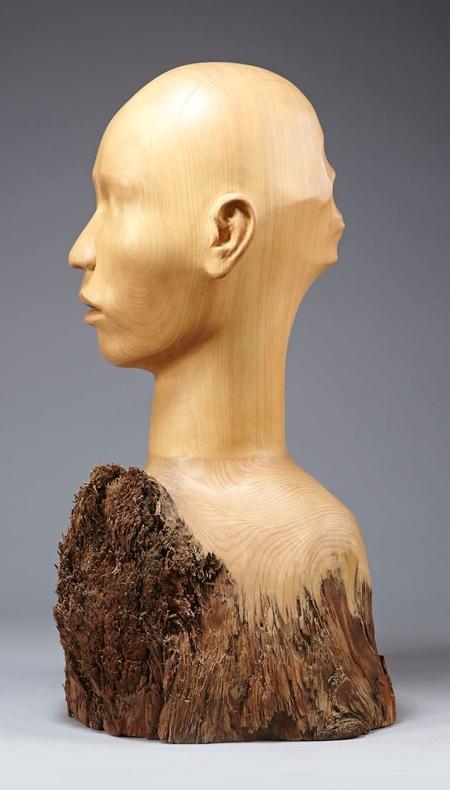 Tung Ming-Chin Wooden Sculpture