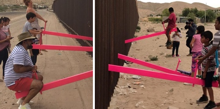 See-Saw Border Wall