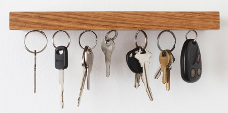 Magnetic Key Holder Shelf