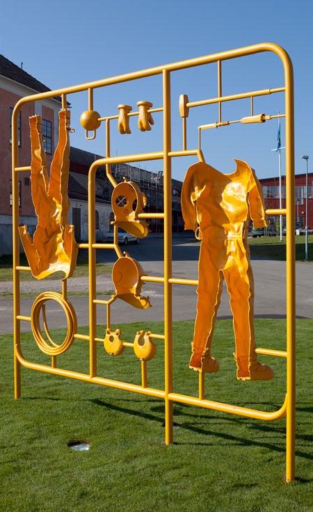 Michael Johansson Model Kit Sculptures