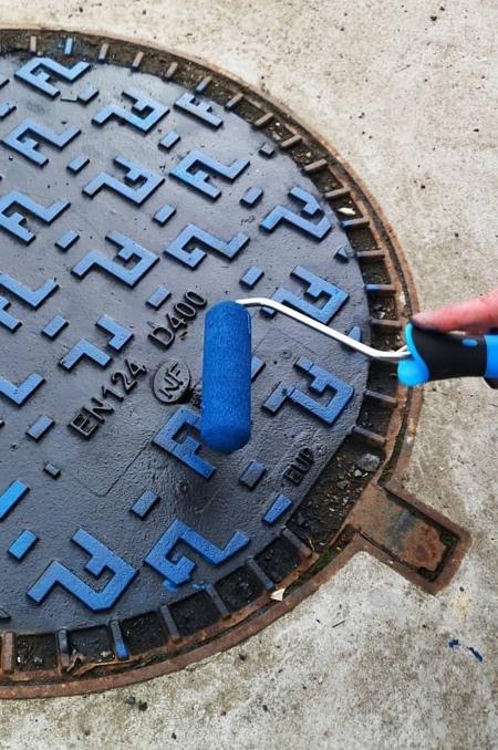 OaKoAk Pac-Man Manhole Cover