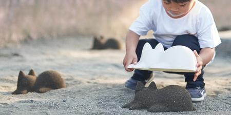 Sleeping Cat Sand Mold