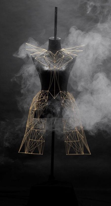 Dress Made of Spaghetti