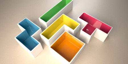 Tetris Flower Pots