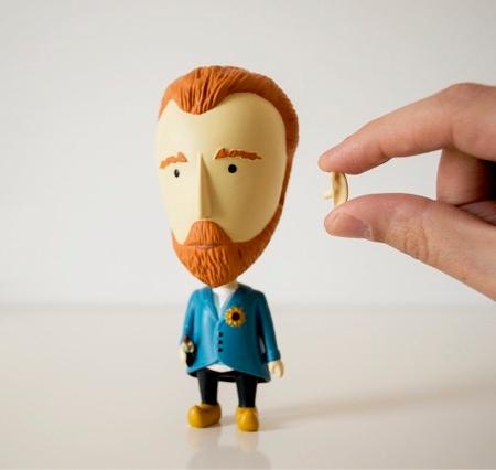 Van Gogh Action Figure