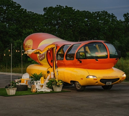 Wienermobile Hotel Airbnb
