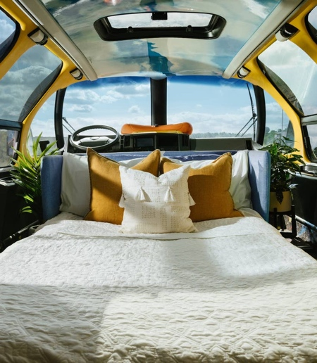 Wienermobile Hotel Room