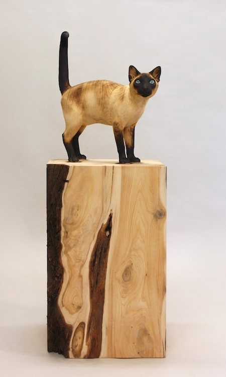 Gerard Mas Wooden Cats and Dogs
