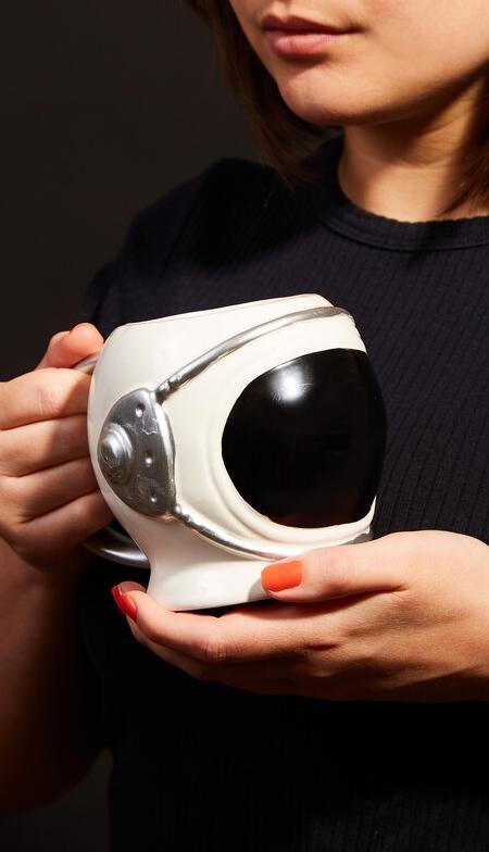 Astronaut Helmet Coffee Mug