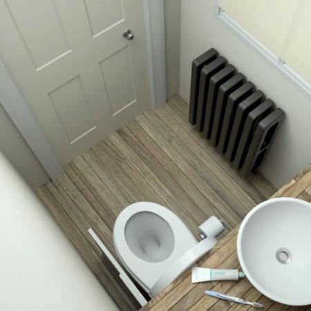 Under Bathroom Sink Toilet