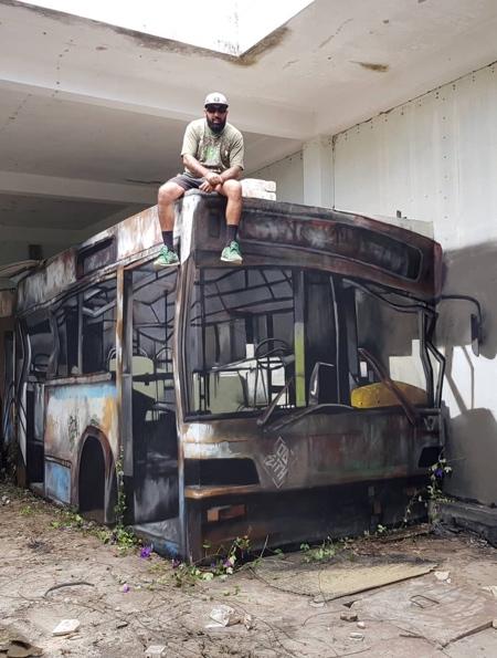 Bus Street Art