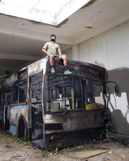 3D Bus Graffiti