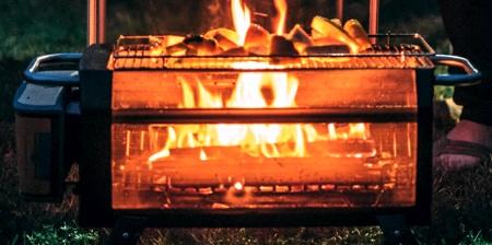 Smoke Free Wood Burner
