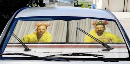 Breaking Bad Car Sunshade