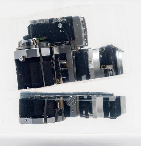 Fabian Oefner Cut Up Cameras