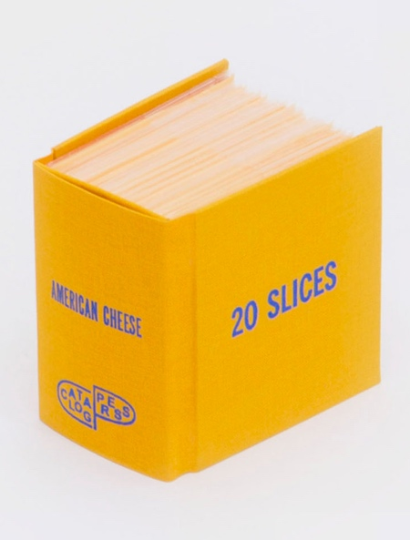 Sliced Cheese Book