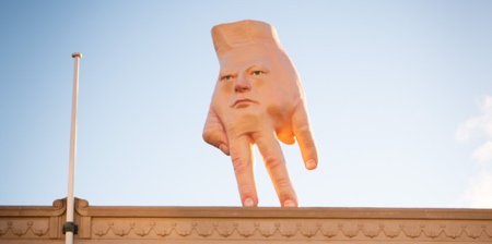 Giant Face Hand
