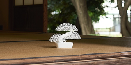 3D Printed Bonsai Trees