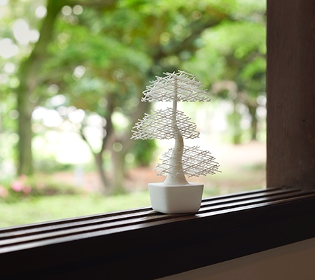 Nendo 3D Printed Bonsai Tree