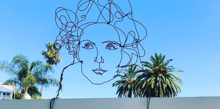 Bent Wire Street Art