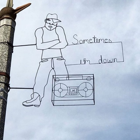 Wire Street Art