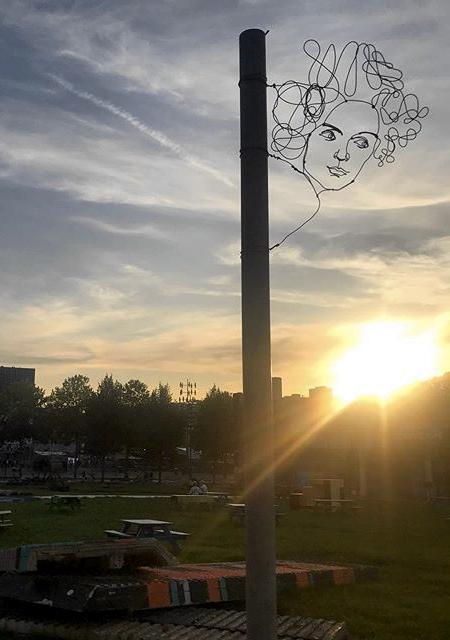 Street Artist Spenser Little