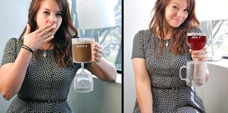 Coffee and Wine Glass