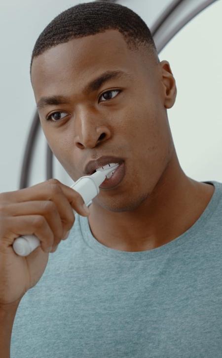J-Shaped Toothbrush