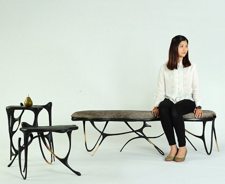Ink Calligraphy Furniture