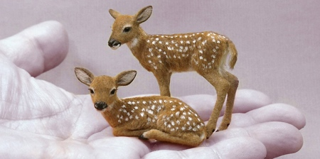 Miniature Animal Sculptures