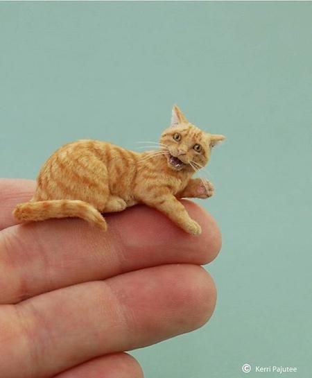 Tiny Animal Sculptures