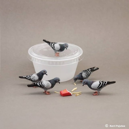 Realistic Miniature Animal Sculptures