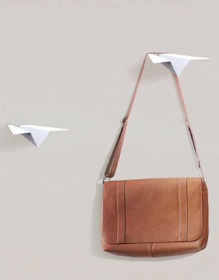 Paper Airplanes Wall Hangers