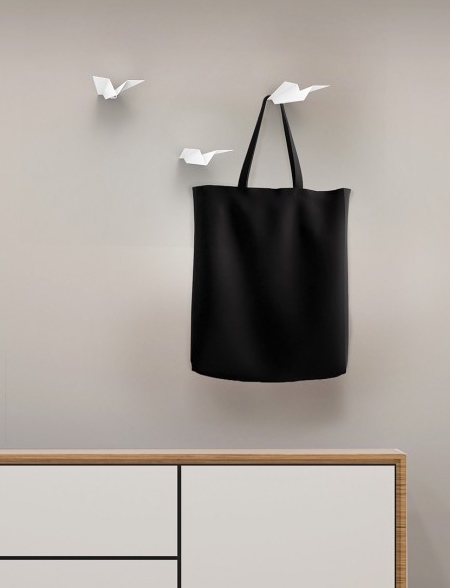 Paper Airplane Wall Hanger