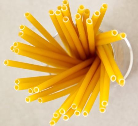 Straws Made of Pasta
