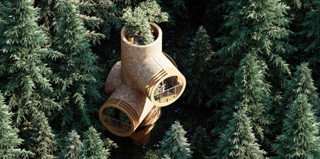Pipe Tree House