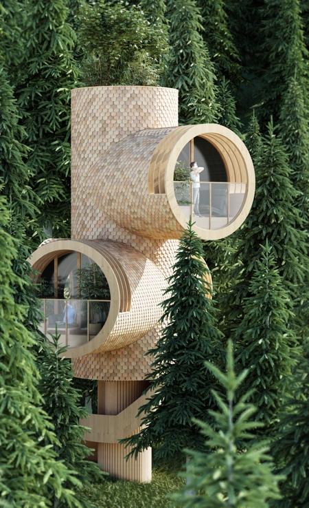 Bert Tree House