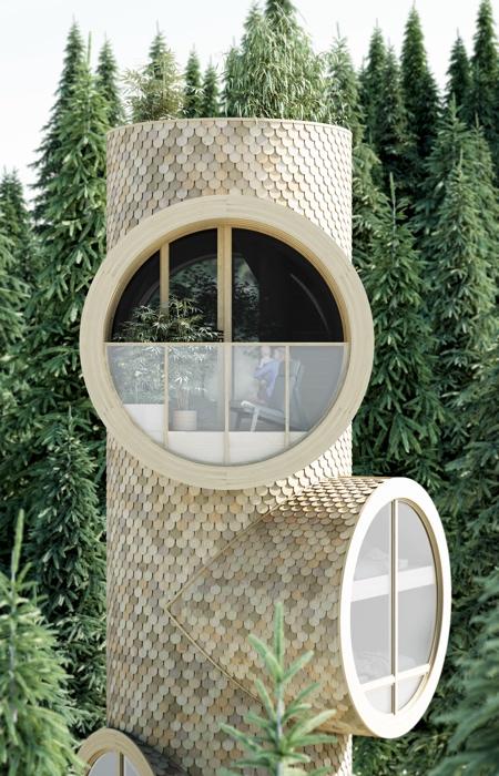 Modular Treehouse