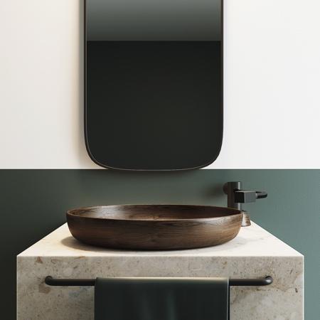 Record Player Bathroom