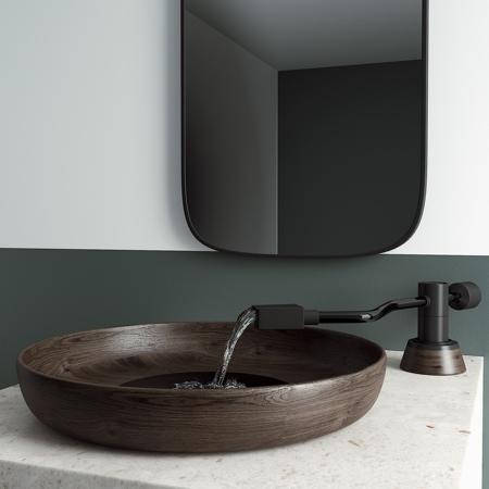 Pato Casa Record Player Bathroom Sink