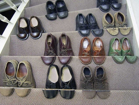 Arranged Shoes