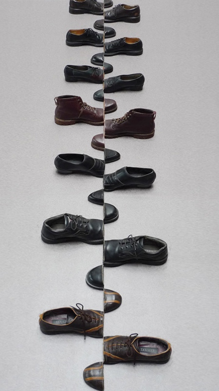 Arranged Shoe