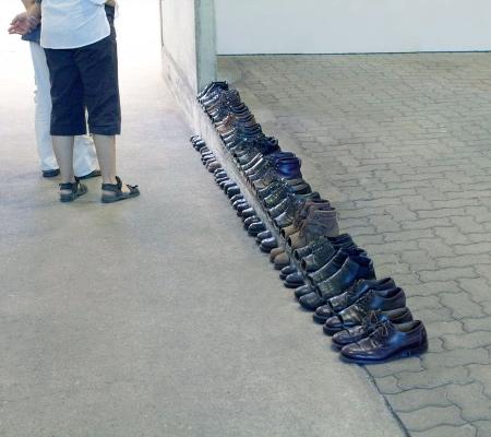 Sakir Gokcebag Sliced Shoes