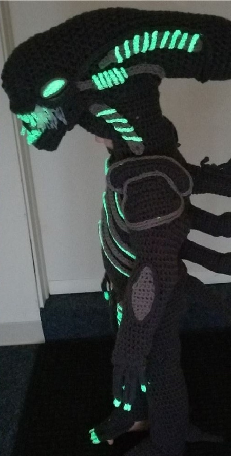 Crochetverse Alien Xenomorph