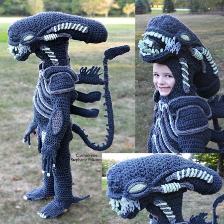 Stephanie Pokorny Alien Xenomorph