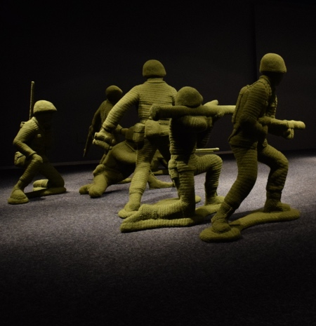 Crocheted Soldiers