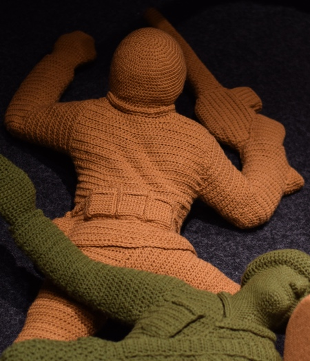 Crocheted Soldier